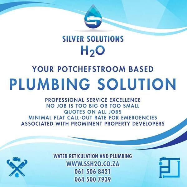 Silver Solutions H2O (Pty) Ltd Potchefstroom, North West - NetPages