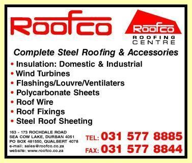 Roofco Roofing Centre Durban Kwazulu Natal Netpages