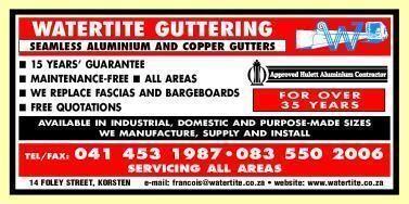 Watertite Guttering Cape Pty Ltd Bellville Western