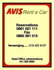 Avis Car Rental Port Elizabeth