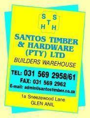 santos timber company Santos timber & hardware ethekwini - diy/garden centre drive, bike, walk, public transport directions on map to santos timber & hardware - here wego.
