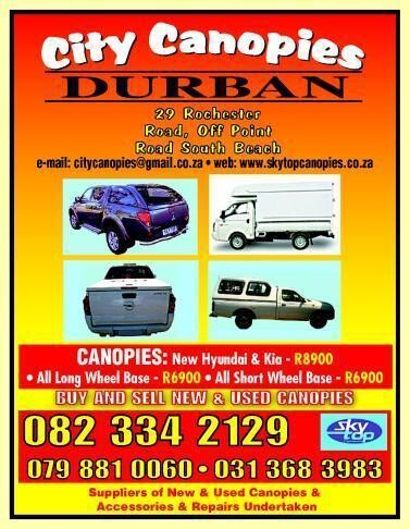 City Canopies Durban Durban, KwaZulu Natal - NetPages